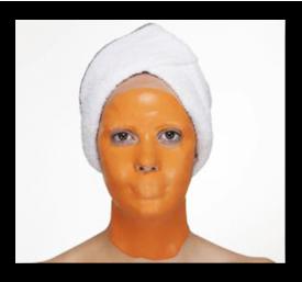 Zabieg z maską osmotyczną - maska ujędrniająca